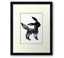 Umbreon used Faint Attack Framed Print