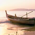 Krabi longboat by Anthony Begovic