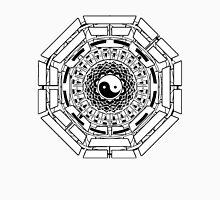 Mandala Yin Yang (white) Unisex T-Shirt