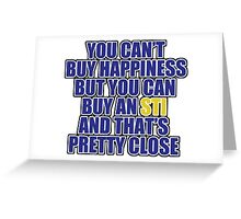 Happiness is STI Greeting Card