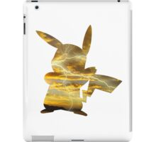 Pikachu used Thunderbolt iPad Case/Skin
