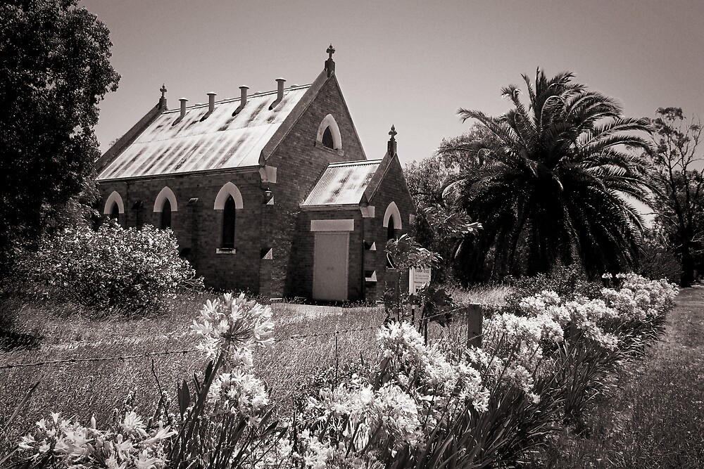 Country Church 2 by Laz Moutafis
