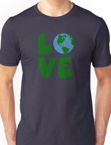 Love the Mother Earth Planet Unisex T-Shirt