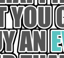 Happiness is EVO Sticker