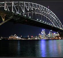 Sydney Harbour Bridge. by RailDen