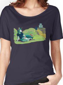 Springtime Clover (close-up) Women's Relaxed Fit T-Shirt