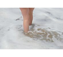 Frothy Pace Photographic Print