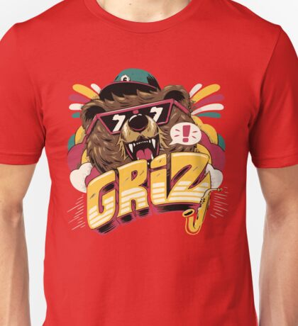 Giz - Bear Jazz Unisex T-Shirt