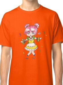 Mardi Gras Chibi with beads Classic T-Shirt