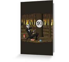 Nightmare Before Hogsmeade Greeting Card