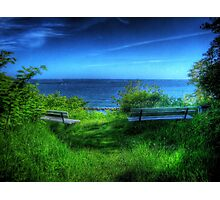 A Blue View Photographic Print