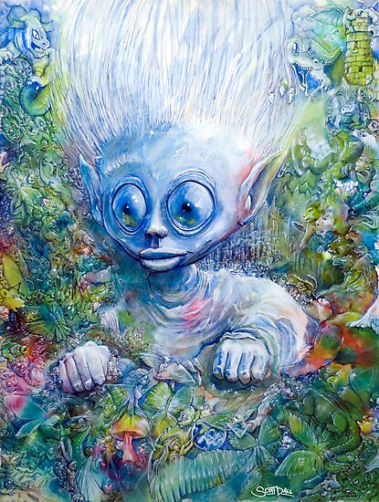 elfern worlds by Scott Dall