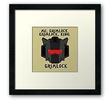 Me, Grimlock Framed Print