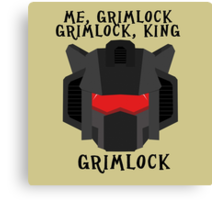 Me, Grimlock Canvas Print