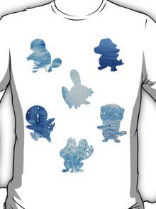 Water Type Starters T-Shirt