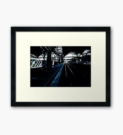 5:19 Framed Print