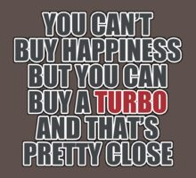 Happiness is Turbo One Piece - Short Sleeve