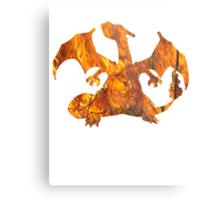 Charizard used Blast Burn Metal Print