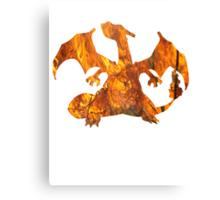 Charizard used Blast Burn Canvas Print