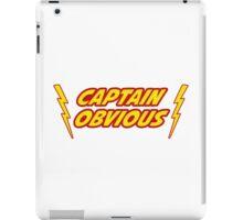 Captain Obvious Superhero iPad Case/Skin