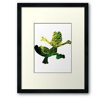 Treecko used Grass Knot Framed Print
