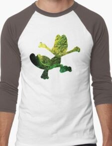 Treecko used Grass Knot Men's Baseball ¾ T-Shirt