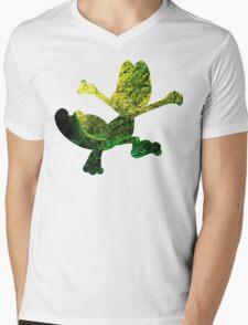 Treecko used Grass Knot Mens V-Neck T-Shirt
