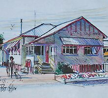 Country Post Office, Clifton, Queensland Australia by MrCreator