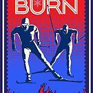Feel the Burn cross country ski by SFDesignstudio