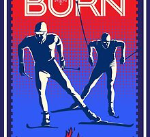 Feel the Burn cross country ski by SFDesignstudio