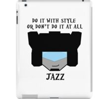 Autobot Jazz iPad Case/Skin