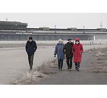 One Plus Three at Tempelhof Photographic Print
