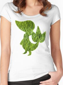 Snivy used Vine Whip Women's Fitted Scoop T-Shirt