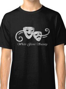 White Glove Society Logo (Grungy Version) Classic T-Shirt