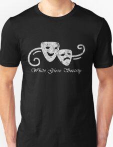 White Glove Society Logo (Grungy Version) Unisex T-Shirt