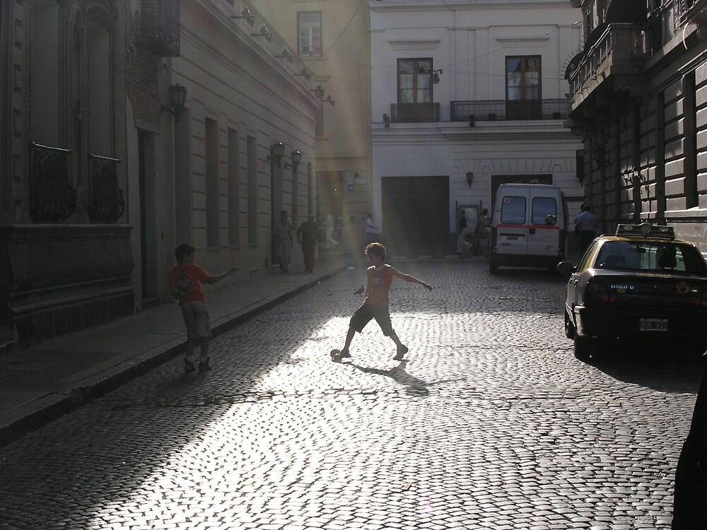 Little Maradona by Ezizza