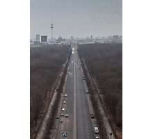Heading for Brandenburg Gate Photographic Print