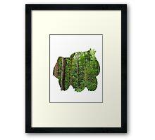 Bulbasaur used Growth Framed Print