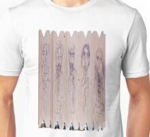 Changelings, Dreadful Werecreatures on cardboard Unisex T-Shirt