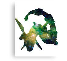 Rayquaza used Dragon Pulse Canvas Print