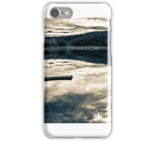 Three Creeks Lake B&W iPhone Case/Skin