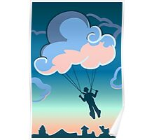Cloud-parachute Poster