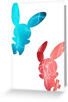 Plusle and Minun used Spark by Gage White