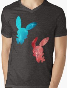 Plusle and Minun used Spark Mens V-Neck T-Shirt