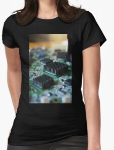 Circuit City Womens Fitted T-Shirt