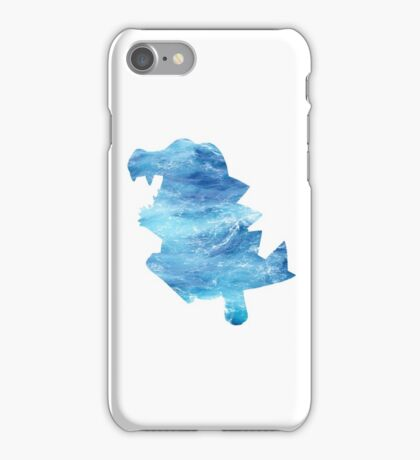 Totodile used Surf iPhone Case/Skin