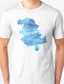 Totodile used Surf Unisex T-Shirt