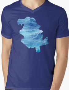 Totodile used Surf Mens V-Neck T-Shirt