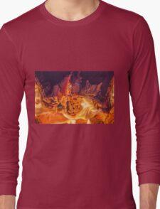 Fire #2 Long Sleeve T-Shirt