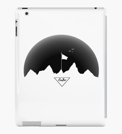 Flag(Black) iPad Case/Skin